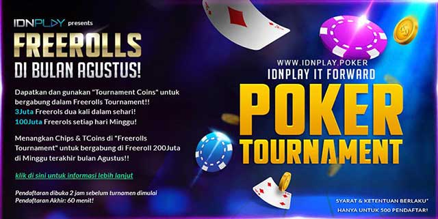 turnamen poker idnplay